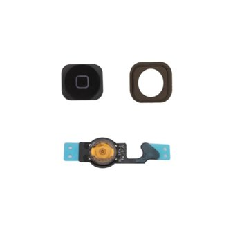 Apple iPhone 5 Home button assembly, Black product