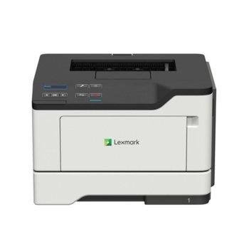 Лазерен принтер Lexmark B2442dw, монохромен, 1200 x 1200 dpi, 40 стр/мин, USB, LAN, Wi-Fi, A4 image
