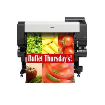"""Плотер Canon imagePROGRAF TX-4000 в комплект със стенд и Roll Unit RU-42, клас 5-цветен 44"""" (1118 mm), 2400x1200 dpi, 2GB RAM, 500GB твърд диск, Wi-Fi, LAN 10/100/1000Base-TX, USB, A0 image"""