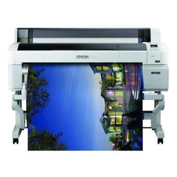 "Плотер Epson SureColor SC-T7200, клас 5-цветен 44"" (1118 mm), 2880x1440 dpi, 1GB RAM, LAN 10/100/1000 Base-T, USB 2.0, A0 image"