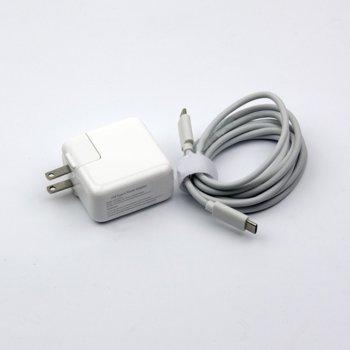 Захранване (заместител) за лаптопи AC Adapter Apple USB TYPE-C 29W/14.5V/2.0A, 5V/2.4A, (US plug) image
