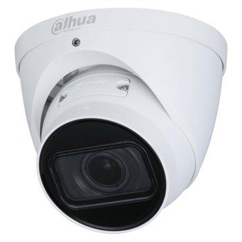IP камера Dahua IPC-HDW3241T-ZAS-27135, куполна камера, 2MP Mpix(1920x1080@25FPS), 2.7mm~13.5mm обектив, H.265+/H.265/H.264, IR осветеност (до 40 м.), външна IP67 защита от вода, LAN, PoE, вграден микрофон, MicroSD 256 GB слот image