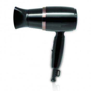 Сешоар със сгъваема дръжка SAPIR SP 1100 CU, 1600W, Концентратор, Студен въздух, Черен image