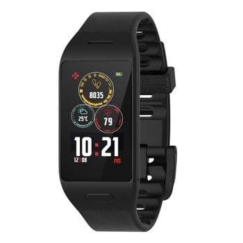 "Смарт часовник MyKronoz ZeNeo+, 1.14"" (2.89 cm) IPS дисплей, до 4 дни време за работа, Bluetooth, водоустойчив IP56, черен image"