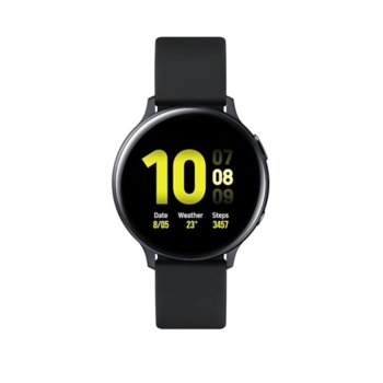Смарт часовник Samsung Galaxy Watch Active2 SM-R820N (SM-R820NZKABGL), до 131 часа време за работа, алуминиев, черен image