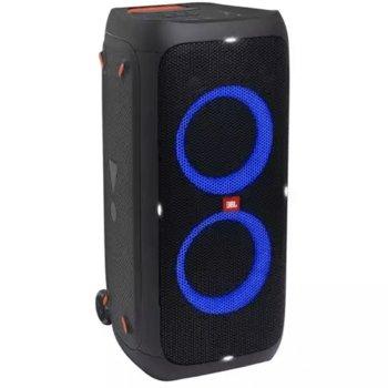 Тонколона JBL Partybox 310, 2.0, 240W RMS, Bluetooth 5.1, USB, 3.5 mm jack, RCA L/R, LED подсветка, черна image