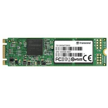 Памет SSD 128GB Transcend MTS800S, SATA 6Gb/s, M.2, скорост на четене 560MB/s, скорост на запис 460MB/s image