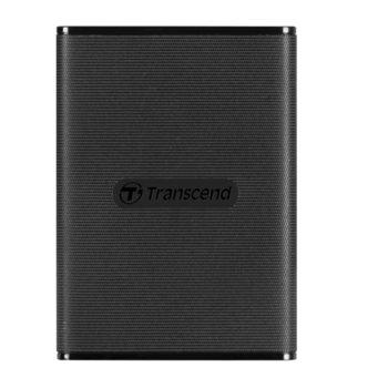 Памет SSD 960GB Transcend ESD230C, USB 3.1 Gen2, външно, преносимо, скорост на четене 520MB/s, скорост на запис 460MB/s, черно image