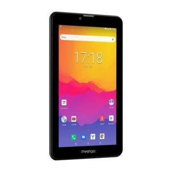 "Таблет Prestigio Q Mini 4137 4G (PMT4137_4G_D_BG), LTE, 7"" (17.78 cm) WXGA IPS дисплей, четириядрен Cortex-A53 1.4 GHz, 1GB, 16GB Flash памет, 2.0 & 0.3, MPix камера, Android, 271g image"