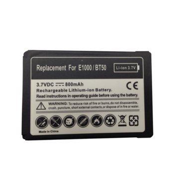 Батерия (заместител) за Motorola E1000, 800mAh/3.7V image