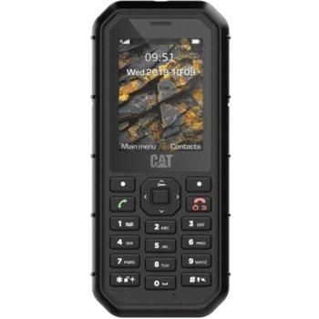 "GSM CAT B26 (черен), поддържа 2 sim карти, 2.4"" (6.10 cm) QVGA TFT дисплей, 8MB Flash памет (+microSD слот), 2.0 MPix камера, 150g image"