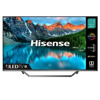"""Телевизор Hisence 65U7QF, 65"""" (165.1 cm) 4K Ultra HD Smart LED TV, DVB-T2/T/C/S2/S, LAN, Wi-Fi, 3x HDMI, 2x USB image"""