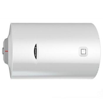 Електрически бойлер Ariston Pro 1 R, 100л, хоризонтален, 3 kW, титаниево покритие, енергиен клас C, 90 x 45 x 48 cm image