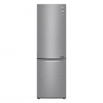 Хладилник с фризер LG GBB71PZEFN, клас D, 341л. общ обем, свободностоящ, 184 kWh/годишно, инокс image