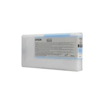 Касета за Epson Stylus Pro 4900 - Light Cyan - P№ C13T653500, 200ml image