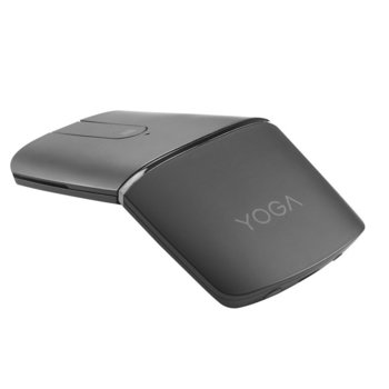 Мишка Logitech Yoga Mouse Wireless с вградена лазерна показалка, оптична (1600 dpi), безжична, Bluetooth, сив image
