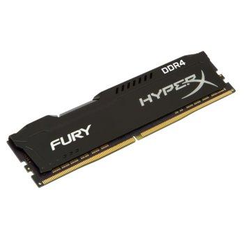 Памет 16GB DDR4 2933MHz, Kingston HyperX FURY Black HX429C17FB/16, 1.2V image