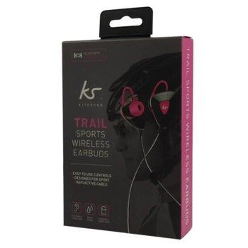 KitSound BT Headset Trail Sport KSTRP Black KSTRPI product