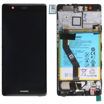 LCD with touch and frame Black for Huawei P9 PLUS product