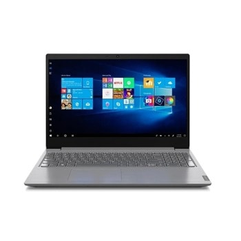 "Лаптоп Lenovo V15 IIL (82C500JFRM)(сив), двуядрен Ice Lake Intel Core i3-1005G1 1.2/3.4 GHz, 15.6"" (39.62 cm) Full HD TN Anti-Glare Display, (HDMI), 4GB DDR4, 1TB HDD, 2x USB 3.0, No OS  image"