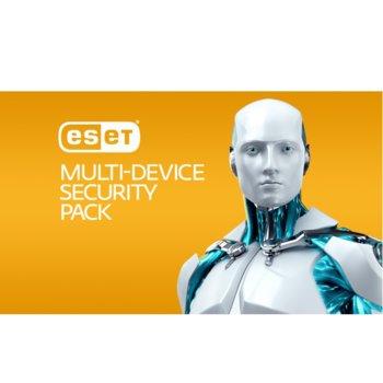 Софтуер ESET Multi-Device Security Pack, 3 устройства(PC/Notebook), 3 мобилни устройства, лиценз за 1 година image