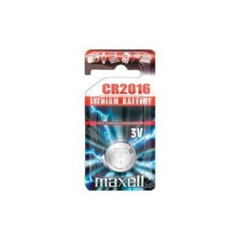 Батерия литиева MAXELL CR2016, 3V, 1 бр. product