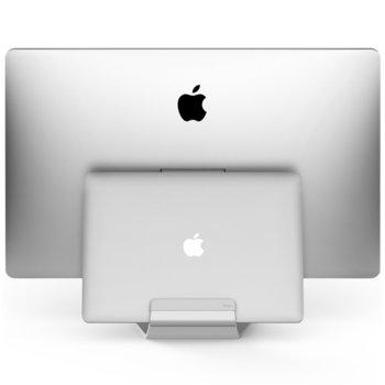 Поставка за MacBook Elago Pro Hanger, прикрепяща се към iMac, Apple Cinema Display и Apple Thunderbolt Display, Дизайнерска алуминиева image