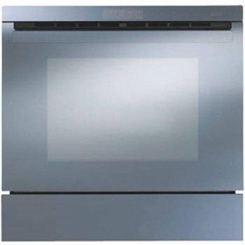 Фурна за вграждане FRANKE CR 910 М BM 48D, клас А, 57 л. обем, 12 програми за готвене, електронен програматор с LCD Display и Touch Control, термосонда, Wellness Program, инокс с черно стъкло image