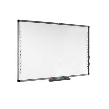 "Екран Avtek TT-BOARD 80 Pro, за стена/поставка, Matt White, 1720 x 1250mm, 80"" (203.20 cm) работна площ, 4:3, IR тъч технология image"