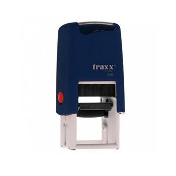 Автоматичен печат Traxx 9022 син, 22/22 mm, квадратен image