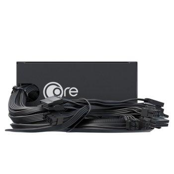 Захранване Seasonic Core GC 650, 650W, Active PFC, 80 Plus Gold, 120mm вентилатор image