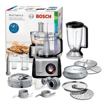 Кухненски робот Bosch MC812M865, 50 функции, Supercut острие, 1250W, черен image
