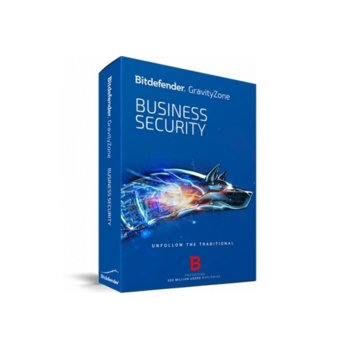 Софтуер Bitdefender GravityZone Business Security, 15 - 24 потребителя, 1 година image