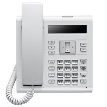 Стационарен телефон Siemens OpenScape Desk Phone, PoE, Switch, жах за hands-free, бял image