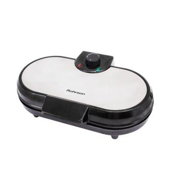 Гофретник Rohnson R 2205, защита от прегряване, индикатори за мощност, 1200 W, черен image