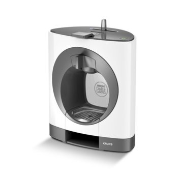 Ръчна еспресо машина Krups Nescafe Dolce Gusto OBLO, 1460 W, 15 bar, бяла image