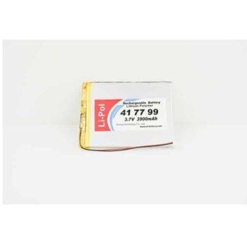 Литиева батерия LP417799-PCM, 3.7V, 3900mAh, Li-polymer, 1бр., PCM защита image