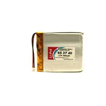 Литиева батерия LP653740-PCM, 3.7V, 900mAh, Li-polymer, 1бр. image