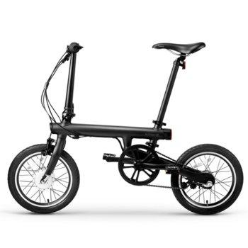 Електрическо колело Xiaomi Mi QiCYCLE Electric Folding Bike, 250W, 45км/ч. средна скорост, информация в реално време за скорост, разстояние и изгорени калории, компактен дизайн, черно image