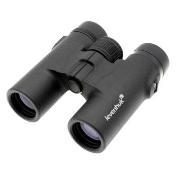 Бинокъл Levenhuk Karma Base 10x32, 10x оптично увеличение, 32mm диаметър на лещата, възможност за адаптиране към триножник image