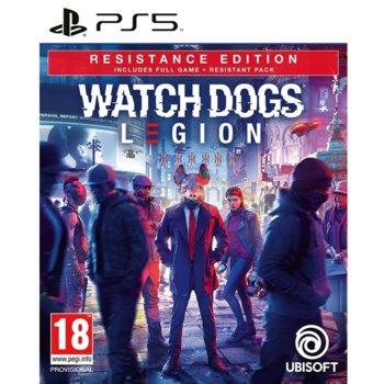 Игра за конзола Watch Dogs: Legion - Resistance Edition, за PS5 image