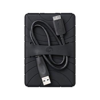 Калъф Seagate Backup Plus Slim Case 1K9APM-RA2, за Seagate Backup Plus Slim 1/2TB, гумен, черен image