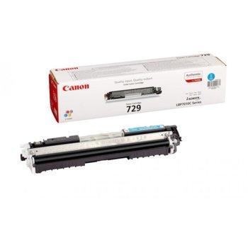 Касета за Canon LBP 7018C/LBP7010C - Cyan - P№ CRG-729C - CR4369B002 - Заб.: 1 000k image