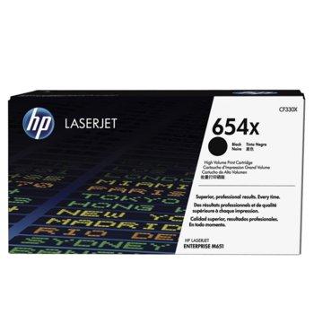 КАСЕТА ЗА LaserJet Enterprise M651 - Black - 654X - P№ CF330X - заб.: 19 500k image