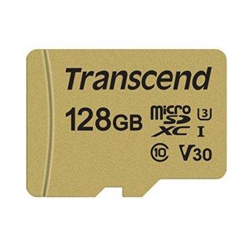 128GB microSDXC Transcend TS128GUSD500S product