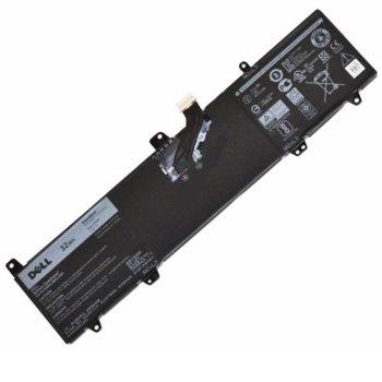 Батерия (оригинална) за лаптоп Dell, съвместима с модели Inspiron 11 3162 3164 3168, 7.6V, 4200mAh image