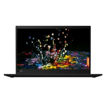 "Лаптоп Lenovo ThinkPad X1 Carbon (7th Gen)(20QDS2L200), четириядрен Whiskey Lake Intel Core i7-8565U 1.8/4.6 GHz, 14.0"" (35.56 cm) WQHD IPS Anti-Glare Display, (HDMI), 16GB, 1TB HDD, 2x Thunderbolt 3, Windows 10 Pro image"