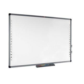 "Екран Avtek TT-BOARD 80, за стена/поставка, Matt White, 1680 x 1180mm, 80"" (203.20 cm) работна площ, 4:3, IR тъч технология image"