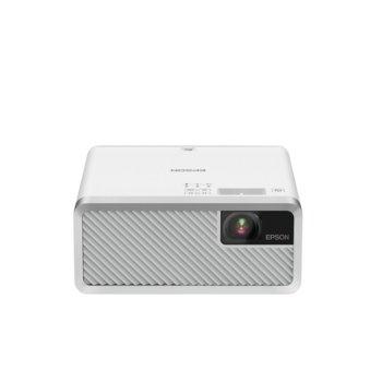 Проектор Epson EF-100 W, 3LCD, 1280 x 800 (WXGA), 2 500 000:1, 2,000lm, Bluetooth, HDMI, USB, 1x Audio jack  image