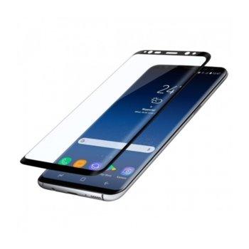 Протектор от закалено стъкло /Tempered Glass/ за Samsung Galaxy S9+ G965 FullFace, черен image